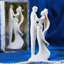Free shipping 2sets/lot  Wedding Cake Accessory Cake Topper bride and groom join together