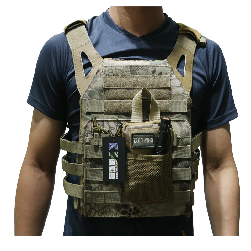 TAK YIYING Molle Tactical Vest 600D Airsoft Paintball Gear Body Armor Vest