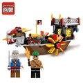 Enlighten 345 unids serie pirata hijo del mar modelo building blocks establece modelo diy ensamblar ladrillos niños juguetes educativos regalos
