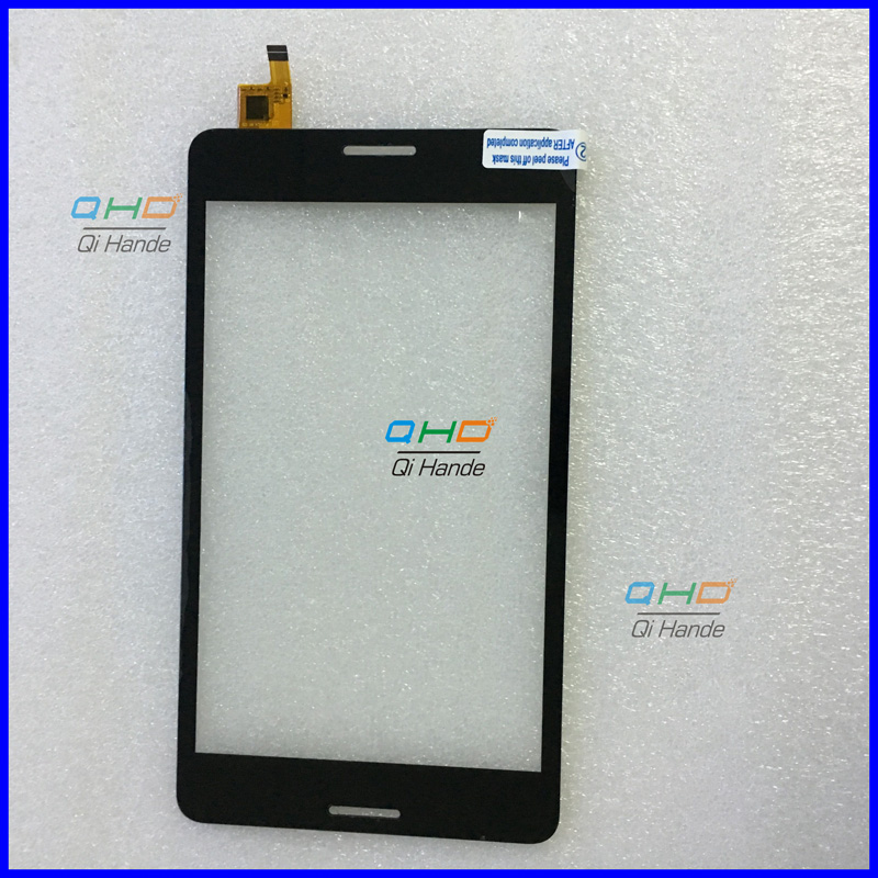 Black New 7'' inch for 3G tablet pc capacitive touch screen panel F-WGJ70702-V2 digitizer glass sensor replacement WGJ70702-V2 9 7 inch pingbo pb97dr8070 06 touch screen digitizer sensor outer glass tablet pc replacement