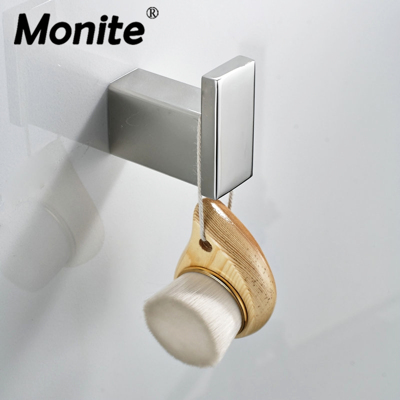 Nickel Brush Bathroom Accessories Stainless Steel Single Robe hook Coat Clothes Holder hanger Robe Hook Clothings Hooks ydl jd 937 stainless steel bathroom clothes hook silver page 8