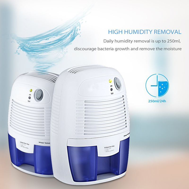 Household 500ML Capacity Air Dehumidifier Air Dryer EU US UK AU Plug Type Convenient Air Humidity Controller Air Water Remover
