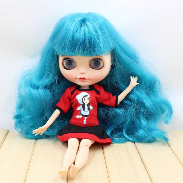 عروسک Neo Blythe Blythe عروسک قرمز کت و شلوار