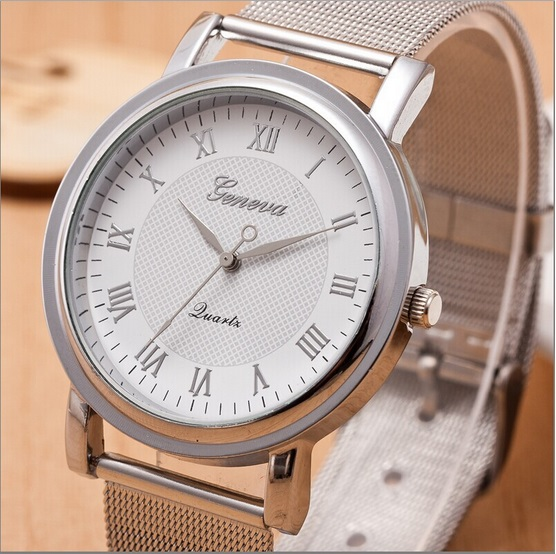 eea6be134e3d Gnova Platinum nueva plata Ginebra reloj mujeres reloj del metal mujer  casual vestido reloj moda B041