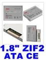 "50% OFF 1.8 ""polegada ATA7 ZIF2 CE SSD Solid State Drive de Disco 8 GB 16 GB 32 GB 64 gb 128 gb para sony ux37 tz37 para dell d430 para hp 2710 p"