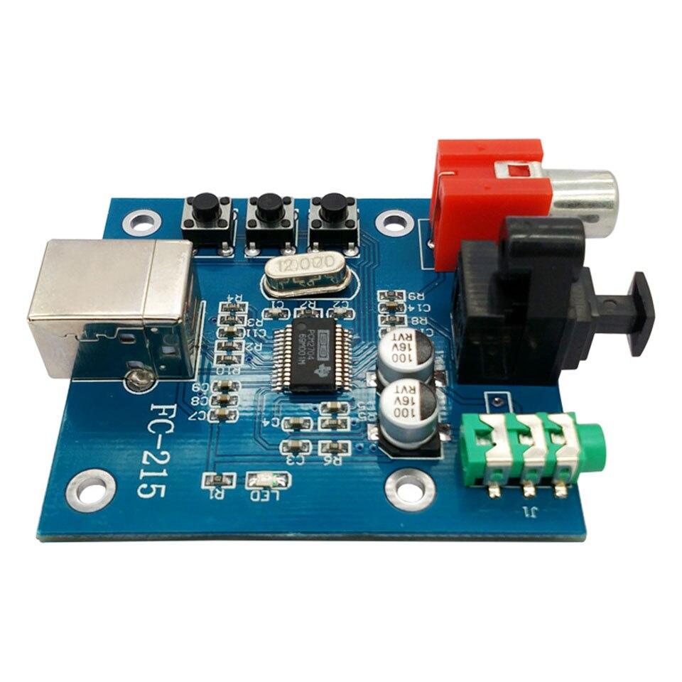 PCM2704USB decoder USB sound card DAC input coaxial optical fiber HIFI sound card decoder feverPCM2704USB decoder USB sound card DAC input coaxial optical fiber HIFI sound card decoder fever