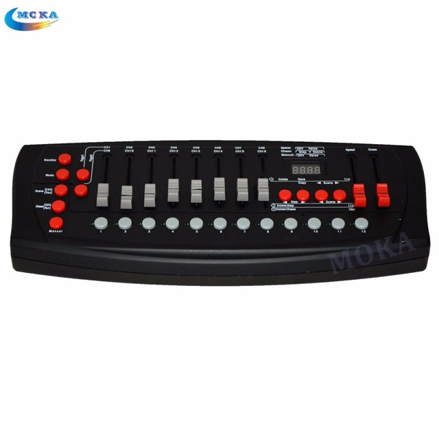 Cheap Price 192 DMX controller can support 192 Channels DMX Console for DJ Home KTV Disco special Stage Lighting Equipment