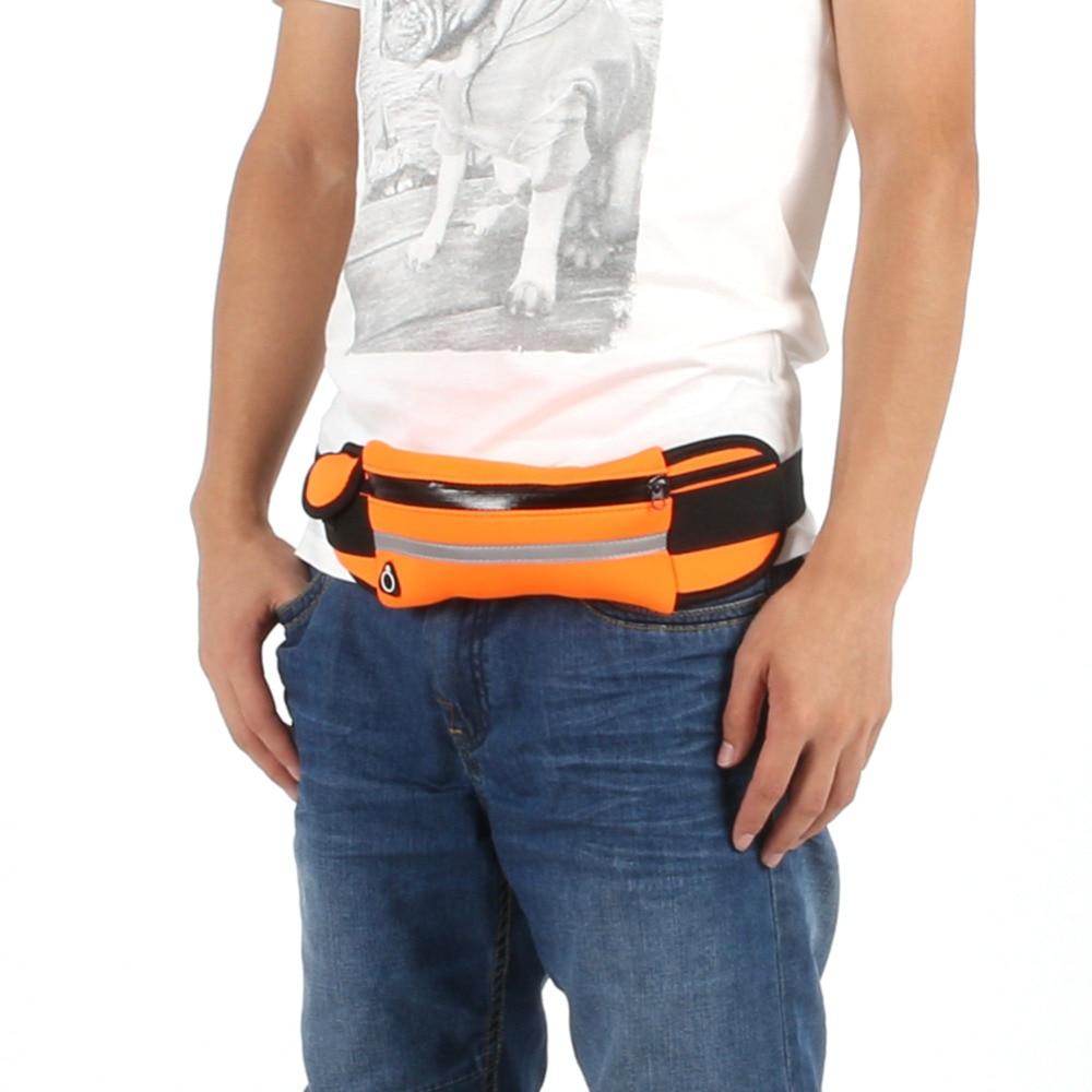 2016 새로운 실행 허리 팩 스포츠 허리 가방 방수 실행 가방 IPHONE에 대 한 전술 주머니 사이클링 포켓 전화 가방