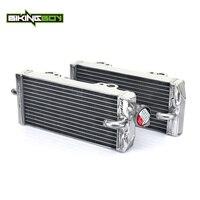 BIKINGBOY MX Offroad Motorcycle Bike Full Set Water Cooling Radiators For GAS GAS EC MC 200 250 300 98 99 00 01 02 03 04 05 06