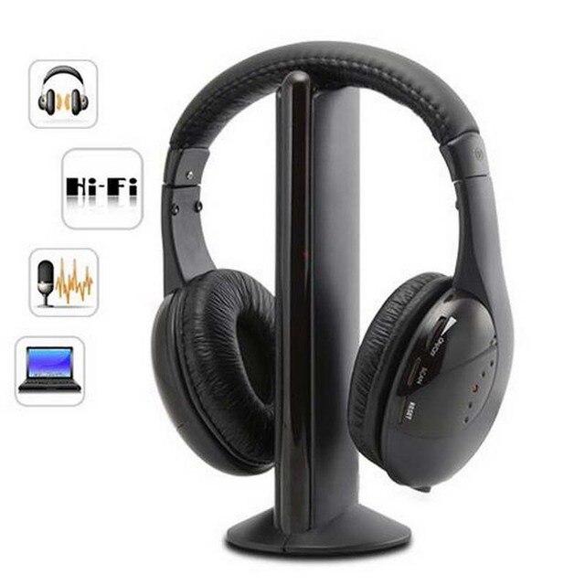 Doitop Wireless Headphones Bt For Samsung Dvd Tv Mp3 Sport Running