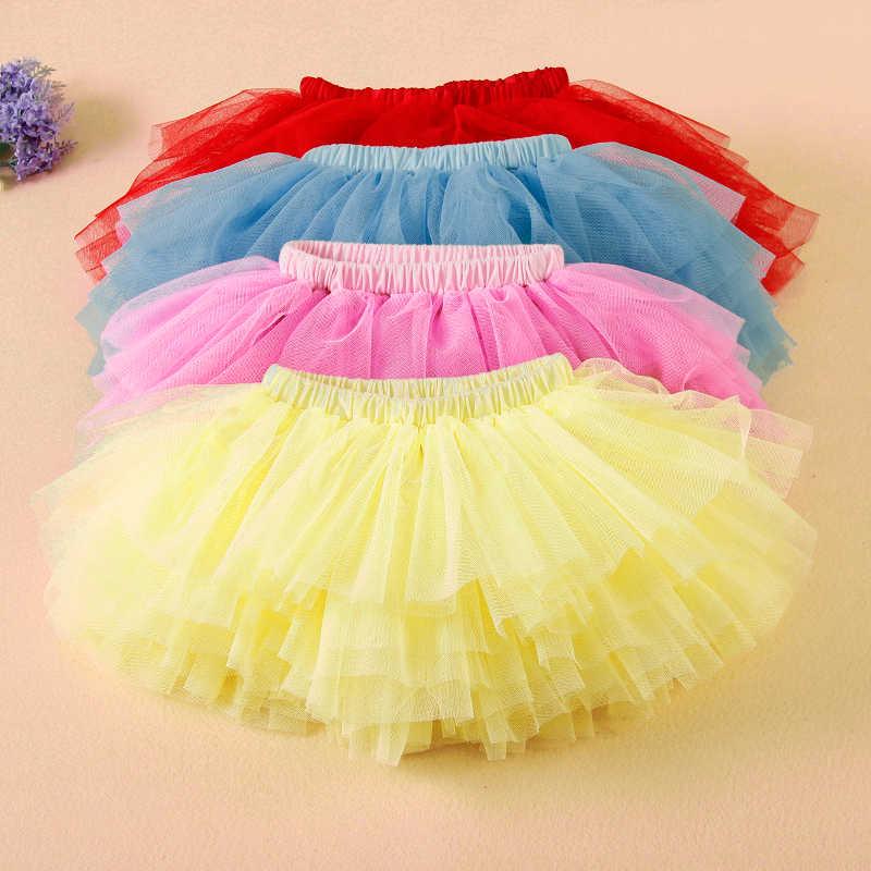 767123625 Nueva falda tutú para niñas y bebés con capas esponjosas faldas de ...
