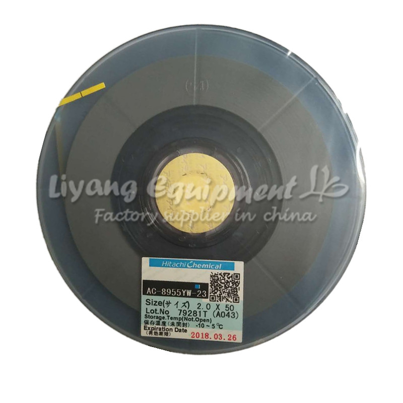 Hand & Power Tool Accessories Tools Intellective Original Pcb Repair Tape Acf Ac-8955yw-23 50m For Pulse Hot Press Flex Cable Machine Use Structural Disabilities