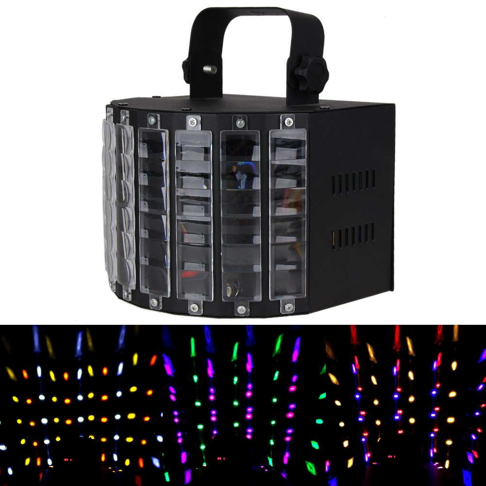 100V-240V Sound Active DMX Stage Lighting LED Light Laser RGBW Effect Club For Disco Party Music Show Laser Projector микрофон akg c3000 c 3000