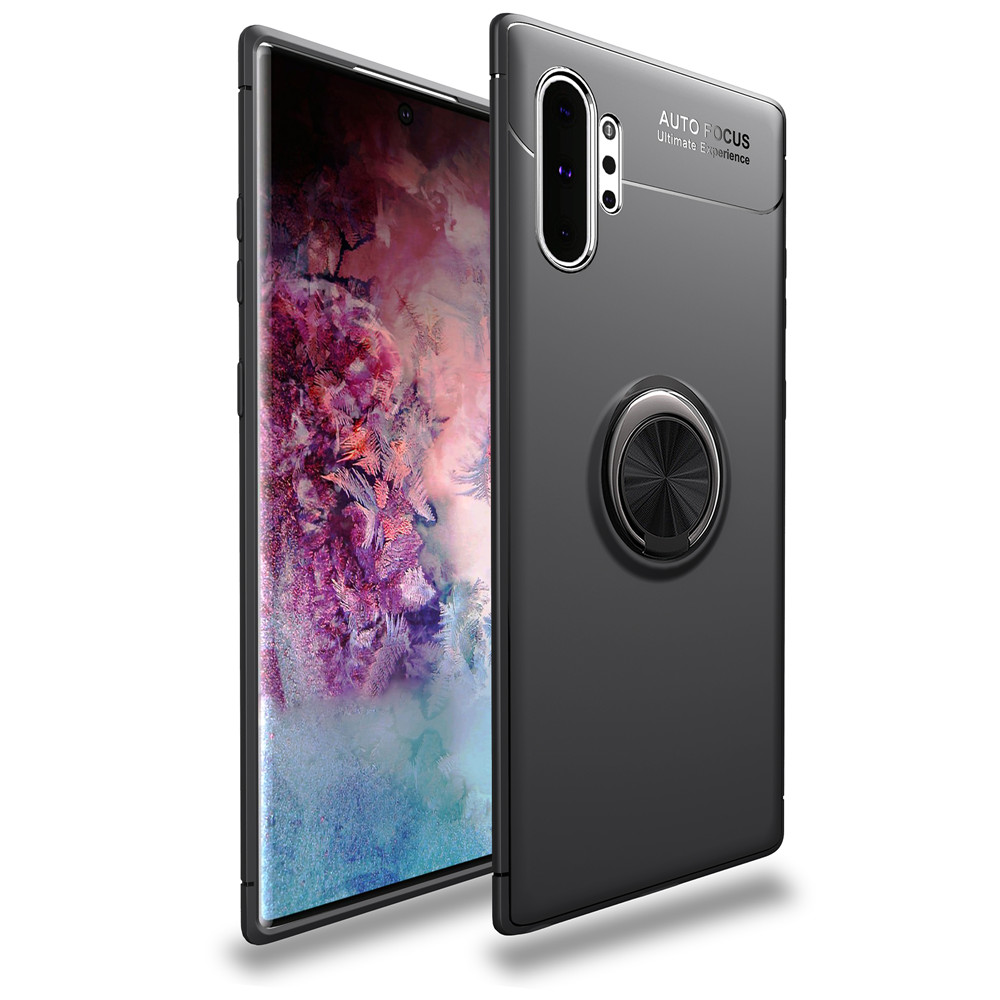 Case For Samsung Galaxy Note 10 S10 S9 S20 Ultra Plus Pro A70 A50 A71 A51 A01 A31 A41 5G Case Magnetic Ring Soft Silicone Cover