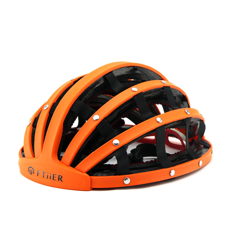Foldable Road Cycling Helmets Ultralight Helmet for Bike Bicycle Helmet Adjustable Casque Cyclisme 56-62cm foldable ultralight aluminum alpenstock for mountaineering