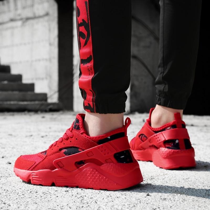 2018 новый летний Мужская мода повседневная обувь тренд мужской Обувь с дышащей сеткой для Для мужчин Любители удобные кроссовки пару обуви Б... ...