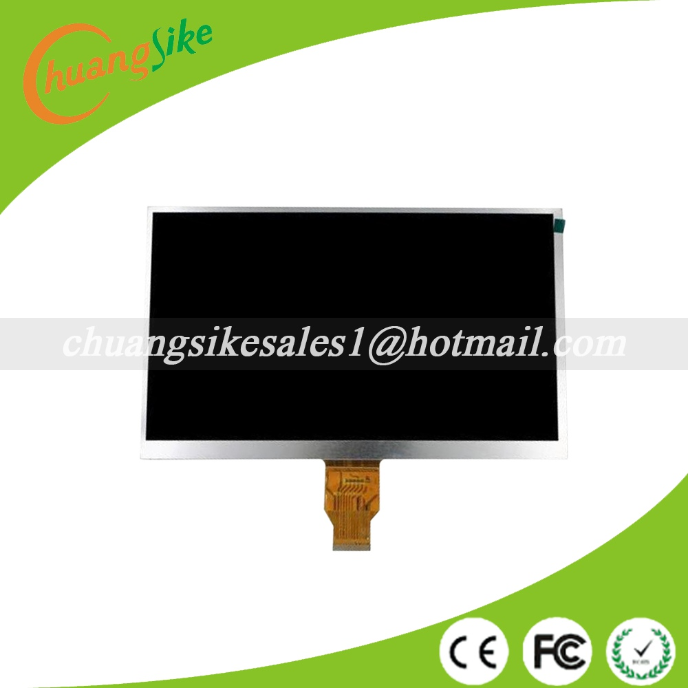A+ (Ref:WCD-400B010/T10140B-A3/C05101FPC40-01 ) 10.1 inch LCD Display LCD Screen tablet pc LCD Screen 235X143mm