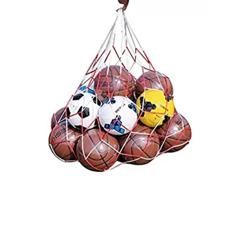 Office & School Supplies 1 Pc 3 Colorful Basketball Football Large Mesh Bag Sacks Carry Net Bag Soccer Volleyball Goal Ball Training