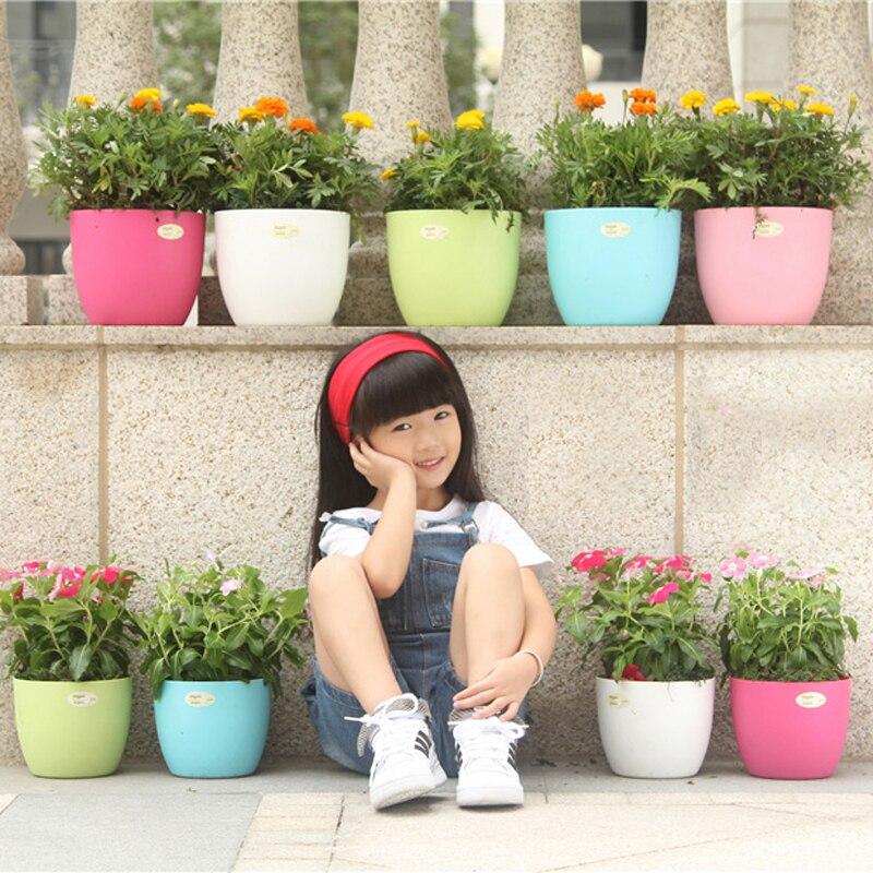 balcn jardn de mini macetas de flores de plstico barato soporte decorativo arcilla suculenta jardn