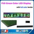 """19 """" X 95 """" зеленый цвет из светодиодов экран программируемых прокрутки сообщения из светодиодов вывеска для бизнеса и магазин 49 * 241 см"""
