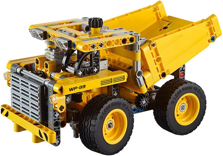 NEW-ARRIVAL-DECOOL-3353-TECHNIC-Mining-Truck-Model-Kit-362pcs-set-Buidling-block-set-compatible-42035