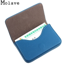 Здесь можно купить  FTSTYLE 2017 Mens/Womens New Fashion Mini Pu Leather Business Wallet ID Credit Cards Holder Organizer Purse Top Quality Apr20  Wallets & Holders