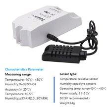 SI7021 умный датчик приложение контроль температуры и влажности умный переключатель домашний Высокоточный пульт дистанционного управления умное устройство
