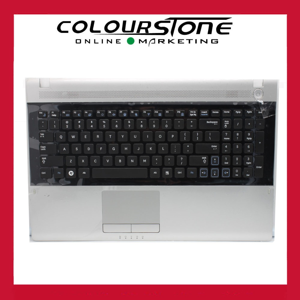 US Black Keyboard with silver Palmrest Touchpad For Samsung NP RV509 RV511 RV515 RV520 9Z.N5QSN.B01US Black Keyboard with silver Palmrest Touchpad For Samsung NP RV509 RV511 RV515 RV520 9Z.N5QSN.B01