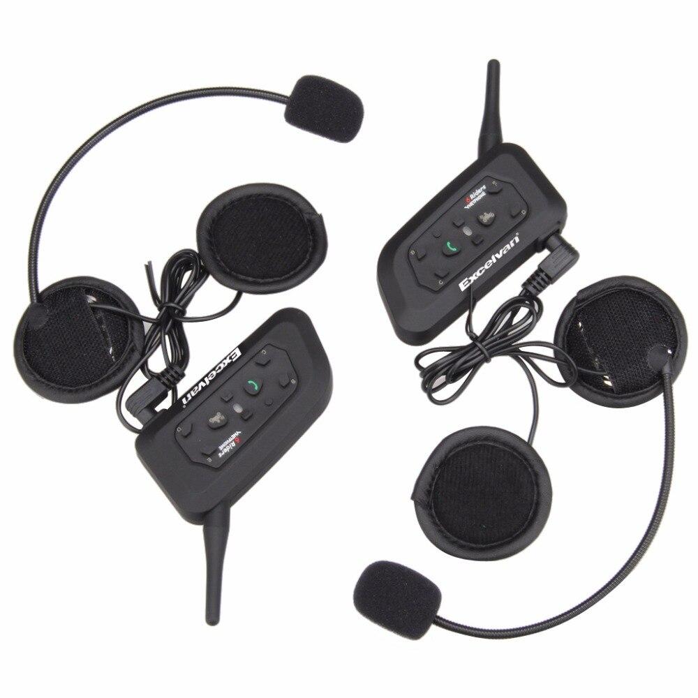 cheap 2pcs v6 motorcycle bluetooth helmet headset 1200m wireless bt interphone motorbike. Black Bedroom Furniture Sets. Home Design Ideas