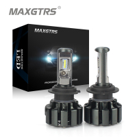 MAXGTRS H4 H7 H8 H11 9005 HB3 9006 HB4 9012 80W 8000Lm Car LED Headlight Conversion