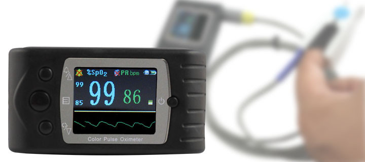 oximetro de pulso de dedo CMS60C Color Lcd Portable Handheld Digital Spo2 Monitor Pulse Oximeter + Software for Infant pc 60b5 oximetro de dedo pulse oximeter blood saturometro monitor spo2 pr oximetro de pulso portable pulsioximetro