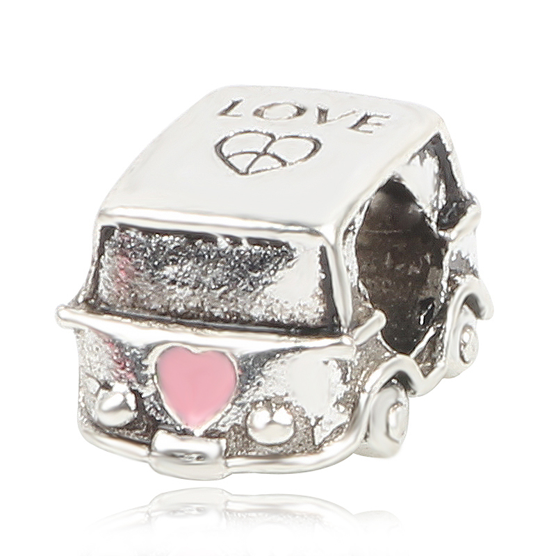 New Original Silver Bead Watermelon Motorcycle Luggage Bear Pendant Charm Fit Pandora Bracelet Necklace DIY Women Jewelry in Beads from Jewelry Accessories
