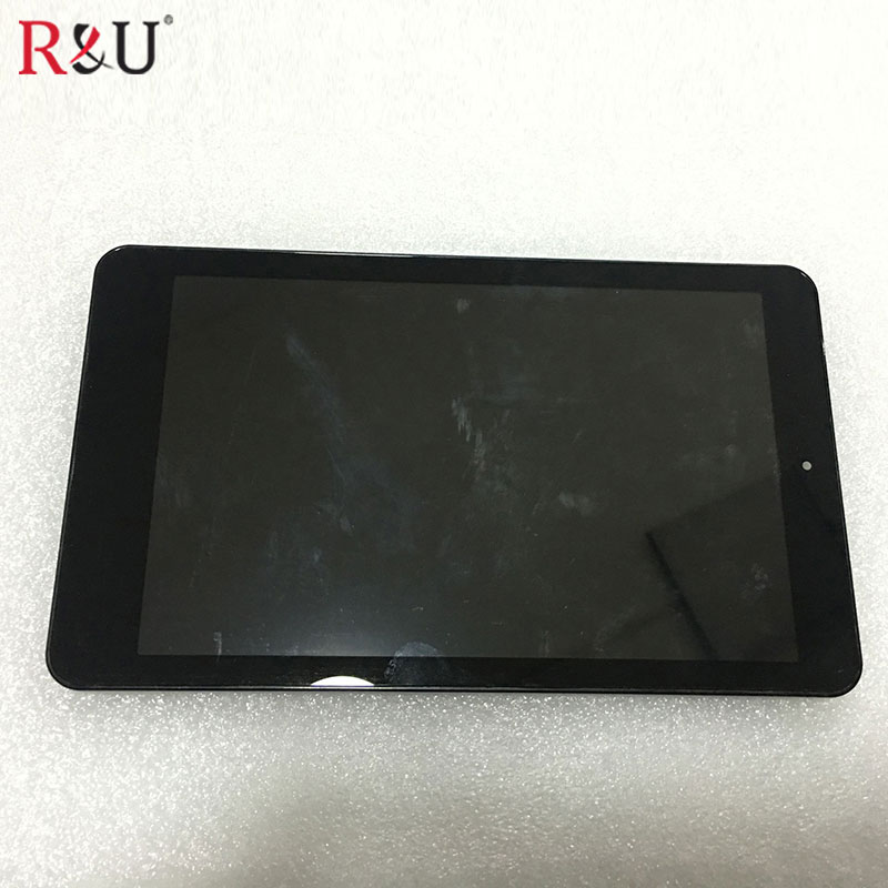used parts 8 inch LCD Display + Touch Screen Panel Digitizer Glass Assembly with frame replacement for Acer Iconia One 8 B1-820 high quality 10 1 inch for acer iconia tab a700 a701 b101uan02 1 lcd display panel screen tablet pc replacement parts