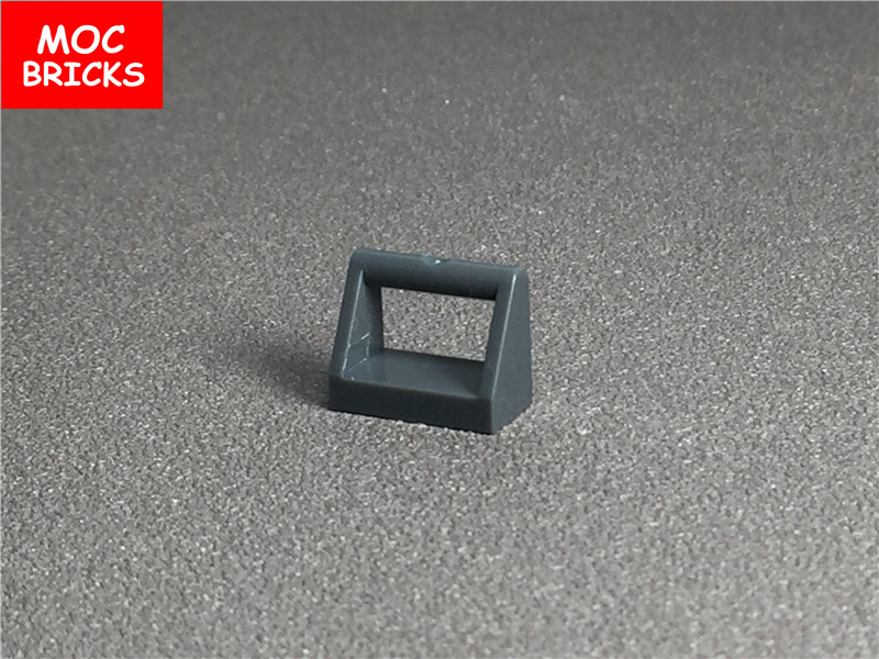 Lego Lot of 100 New Black Tiles Modified 1 x 2 with Handle Pieces