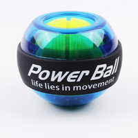 LED Muscle Power Ball Wrist Ball Trainer Relax Gyroscope PowerBall Gyro Arm Exerciser Strengthener Fitness Equipments
