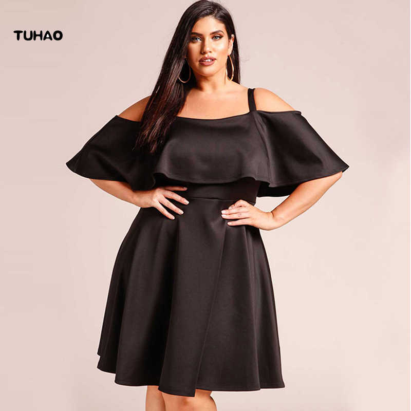 20cdf31e344bd Office Lady Women Plus Size 3XL Elegant Sexy Dresses 2018 Summer Female  Evening Party Casual Big Large Size Clothing Dress BC118