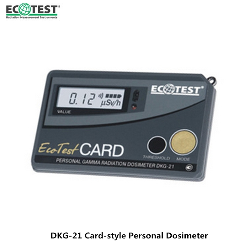 Ukraine DKG-21 Card-type Personal Radiation Dosimeter High Sensitivity Gamma And X-ray Geiger Counter Radiation Detector