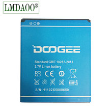 New For DOOGEE X5 Battery 2400mAh New Replacement accessory accumulators For DOOGEE X5 Pro Cell Phone Battery + Tracking code(China)