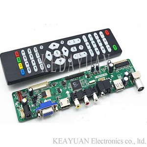 free shipping V59 motherboard T.VST59.031 LCD LED TV Controller Driver Board(China)