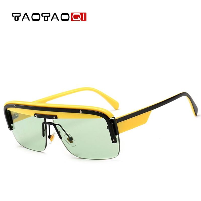 TAOTAOQI Men Luxury Sunglasses New Square Women Brand Designer Vintage Female Fashion Shades UV400