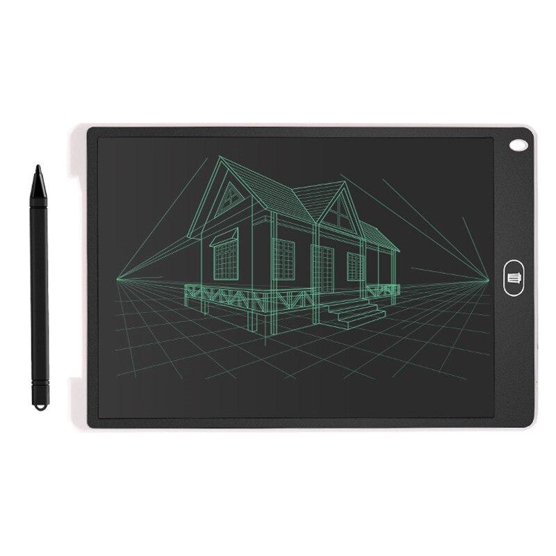 12 pouces LCD Écriture dessin numérique conseil tablette graphique Portable Intelligent Électronique Tablet Livraison gratuite avec tapis de souris jouets pour enfants