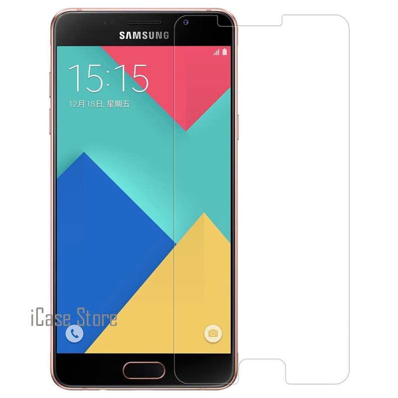 Anti-Scratch Ultra Thin 2.5D 0.26mm 9H Phone Mobile Cell Front Tempered Toughened Glass For <font><b>Samsung</b></font> <font><b>Galaxy</b></font> <font><b>A5</b></font> A510 2016 A <font><b>510</b></font> image