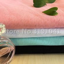 mosquito net fabric /100% polyester hexagonal mesh fabric /many colors in stock(China)
