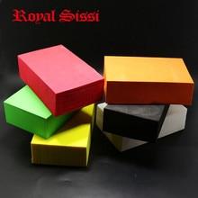 "Hot 6colors Bigger Foam Blocks size 1,6""X4""X6"" super fine own shapeable foam thickness 4cm float foam bricks fly tying material"