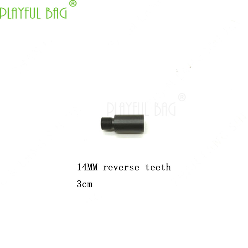 [upgrade Material Concave Convex Tube] 14 Inverse Teeth Jinming 89 Generation M4 Water Bomb HK416 Cap Flame Damper PI16