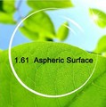 I-bright 1.61 index CR39 aspherical surface lenses resin presbyopia myopia anti-radiation green film lenses 2pcs/pair