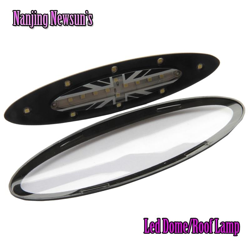 1Piece Direct Replace 18SMD <font><b>3825</b></font> DC12V Car <font><b>Led</b></font> Dome Roof Car Reading Lamp Light White Plug&#038;Play Festoon For Bmw Mini R56 06-08
