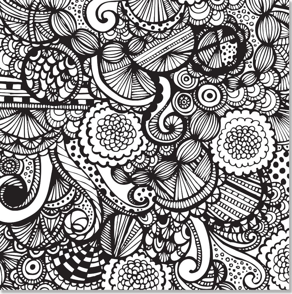 Joyful Designs Artist\'s Coloring Book (31 stress relieving designs ...