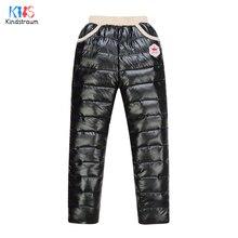 Hiver 2016 Nouvelle Arrivée Garçons et Filles Épaissir En Bas du Pantalon enfants Chaud Taille Haute Solide Pantalon Enfants Marque de Vêtements D'hiver, LC556