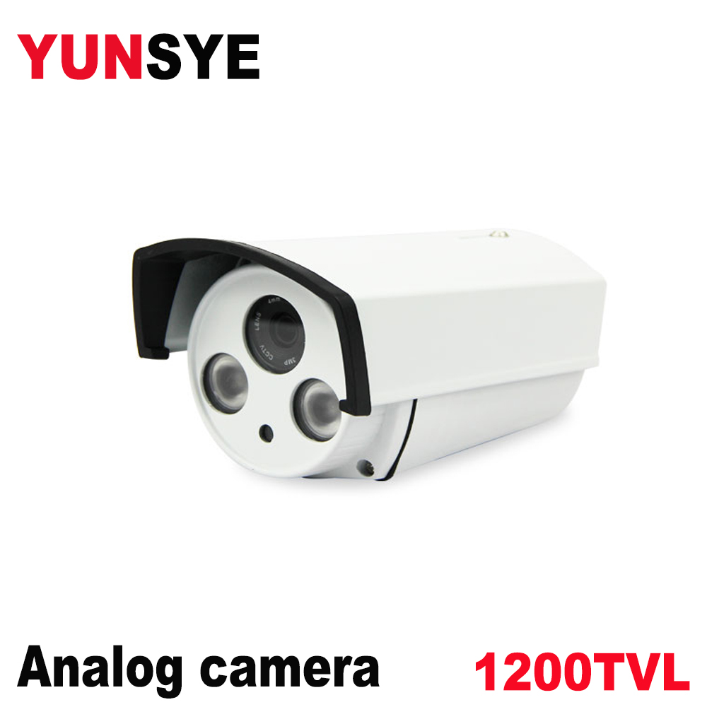 NEW Analog High Definition Surveillance Infrared Camera 1200tvl CCTV Camera Security Outdoor Cameras